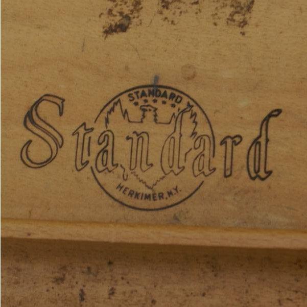 Standard Mid Century Boomerang Desk For Sale - Image 4 of 7