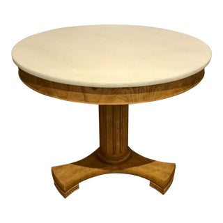 Transitional Global Views Classic Center Table For Sale