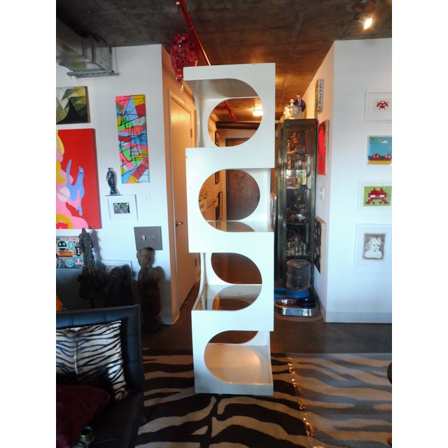 1970s Mid-Century Modern Edward Wormley for Dunbar Etagere For Sale - Image 10 of 11