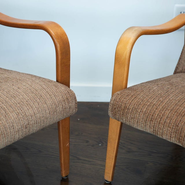 Pair of Thonet Bentwood Armchairs For Sale - Image 9 of 12
