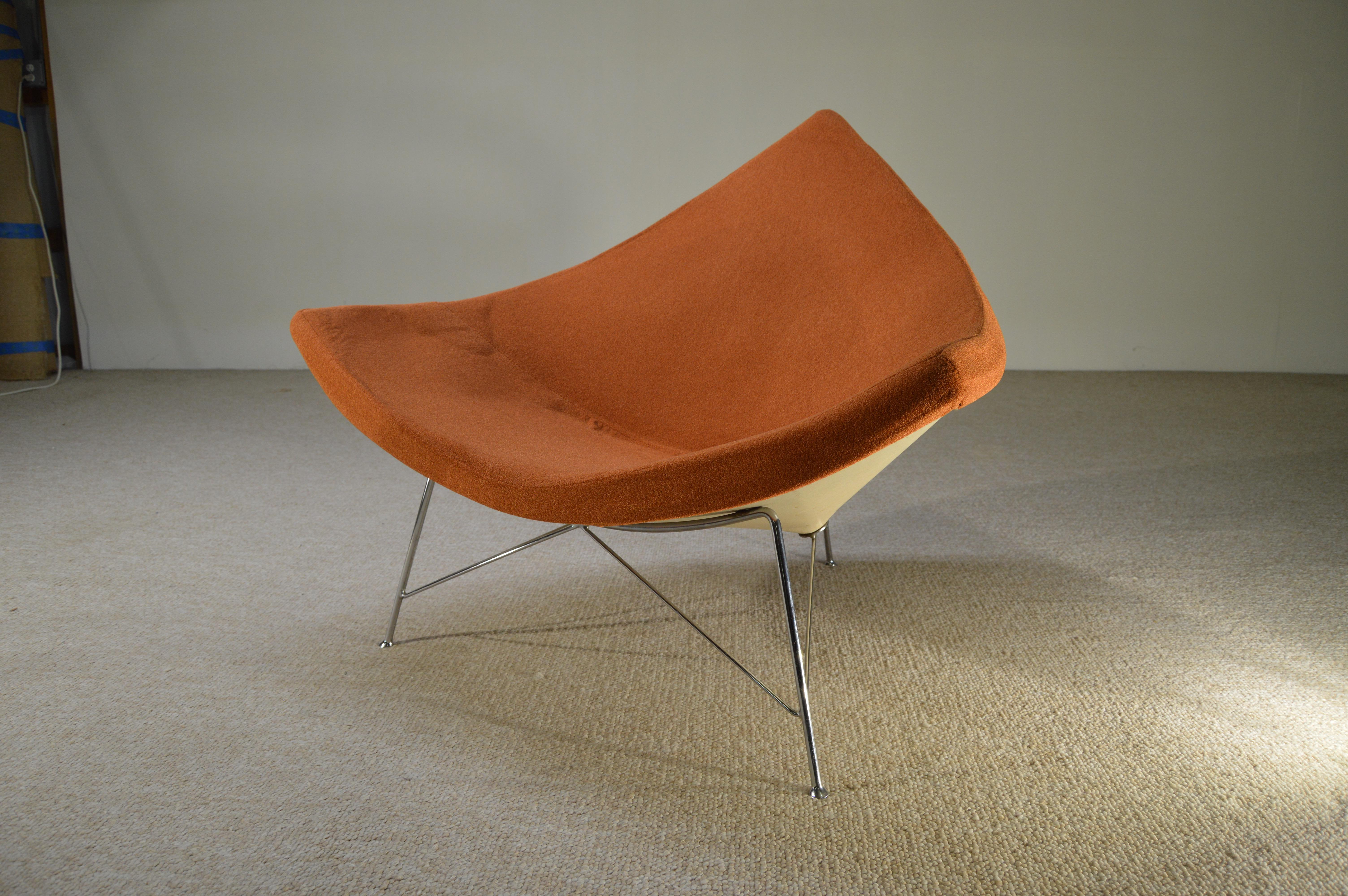 Vintage George Nelson For Herman Miller Coconut Lounge Chair   Image 2 Of 5