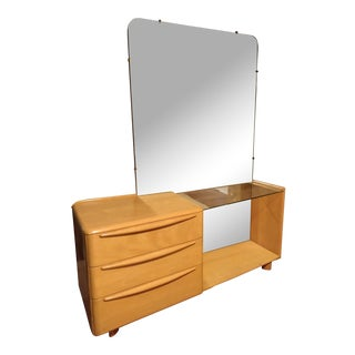 Heywood Wakefield Vanity Table & Mirror