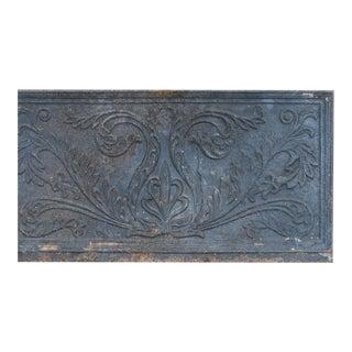 American Cast Iron Stove Plate, circa 183-45 For Sale
