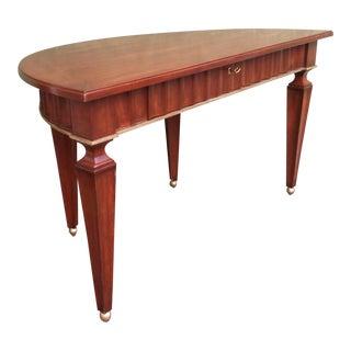 Therien Demi Lune Desk For Sale