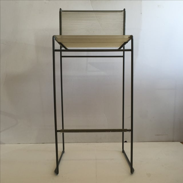 Giandomenico Belotti 1980's Spaghetti Bar Stool - Image 6 of 6
