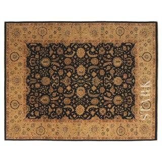 Stark Studio Rugs Traditional Oriental Pakistan Wool Rug - 9′ × 11′9″ For Sale