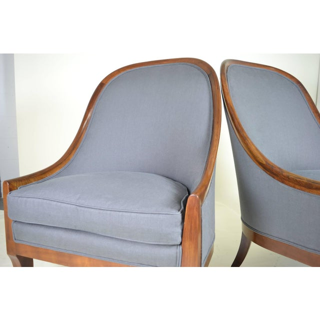 Spoon Back Chairs by Baker Furniture - Image 9 of 9