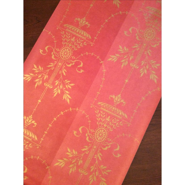 Cole & Son Dorset 2-Toned Red Wallpaper - 10 Rolls - Image 6 of 8