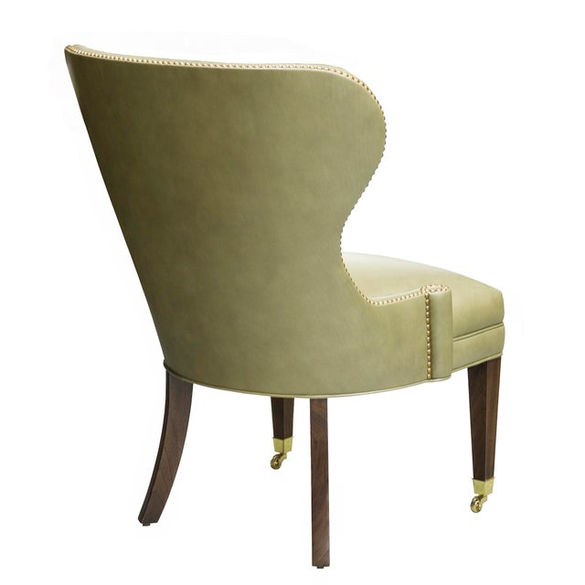 """Hollywood Regency Truex American Furniture """"Sutton Place Chair"""" For Sale - Image 3 of 6"""