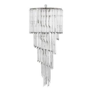 Spiral Crystal Chandelier | Eichholtz Trapani