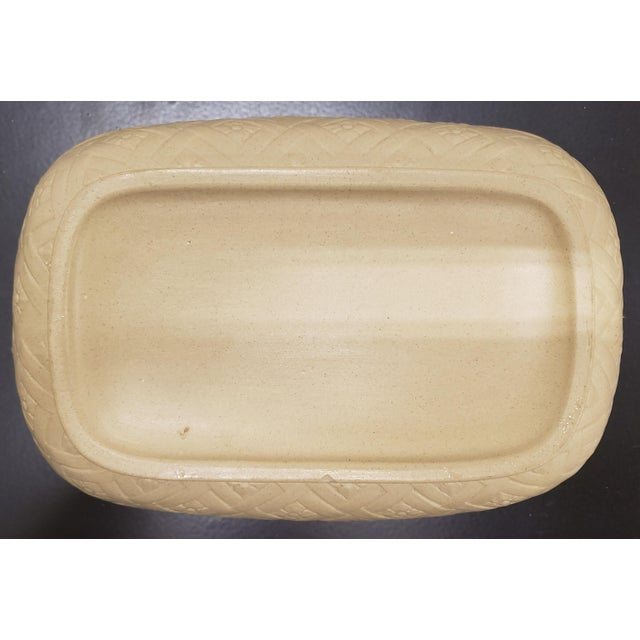Early to Mid 19th Century English Wedgwood Caneware Game Pie Dish With Underplate - 2 Pieces For Sale - Image 9 of 13