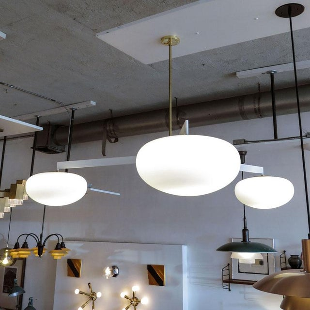 Metal Gallery L7 Nl-3 Chandeliers For Sale - Image 7 of 11