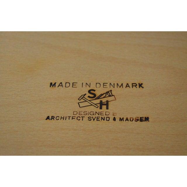 Svend Madsen Model Sh 180 Danish Modern Teak Writing Desk For Sale - Image 9 of 10