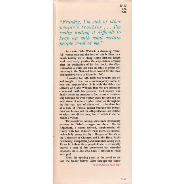 """Booth & Williams 1962 """"Letting Go"""" Collectible Book For Sale - Image 4 of 6"""