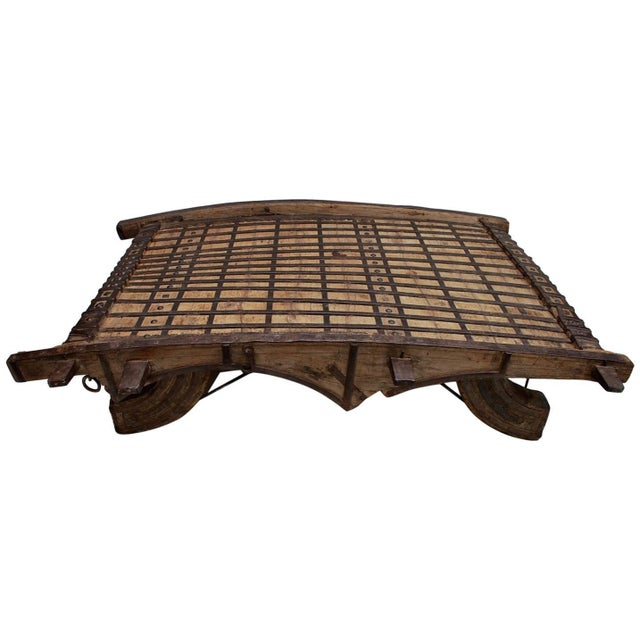 Late 19th Century Coffee Table From India For Sale - Image 4 of 4