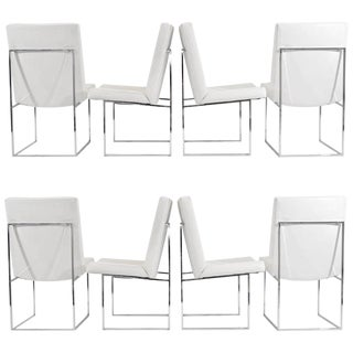 """Milo Baughman """"1187"""" Dining Chairs - Set of 8 For Sale"""