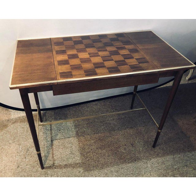 "Paul McCobb MCM Game / Card Table ""The Paul McCobb Connoisseur Collection"" Fully Refinished For Sale - Image 4 of 13"