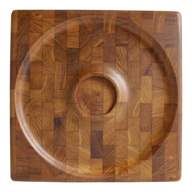 Kalmar Danish Modern Teak Serving Tray Platter - Image 1 of 5