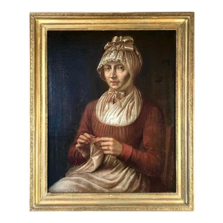 18th Century French Portrait of a Woman For Sale