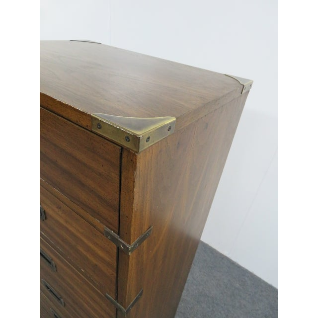 Mid 20th Century Mid Century Campaign Lingerie Chest For Sale - Image 5 of 6