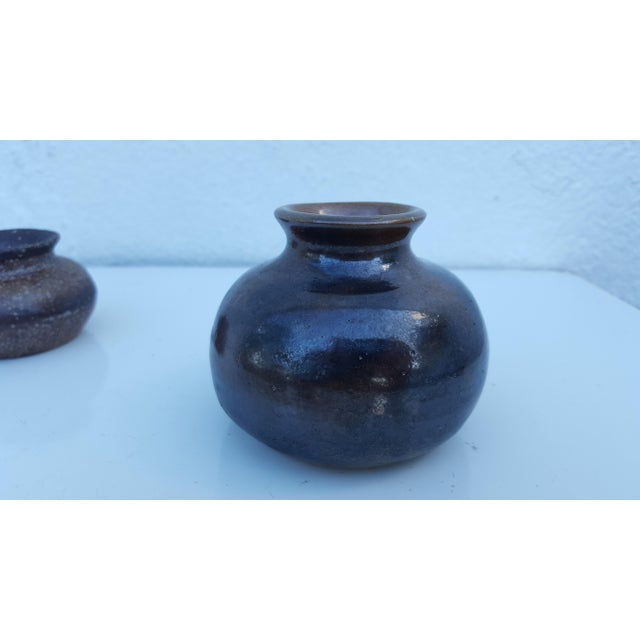 1974 Blackwell Studio Pottery Vases - Set of 6 For Sale In Miami - Image 6 of 11