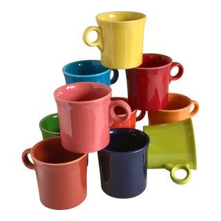 Fiesta-Ware Assorted Mugs, Set of 10