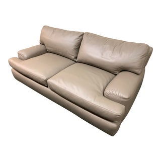 A.Rudin No. 2306 Leather Sofa For Sale