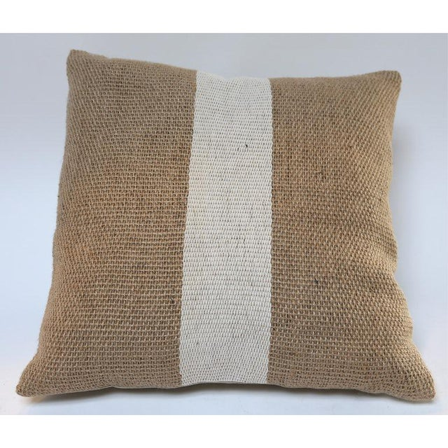 Jute Pillows For Sale - Image 4 of 5