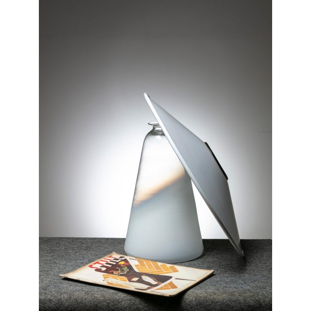 "Jonathan de Pas ""Alfiere"" Table Lamp by De Pas, Lomazzi and d'Urbino for Stilnovo For Sale - Image 4 of 5"