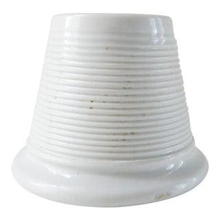 Vintage White Porcelain Match Striker For Sale