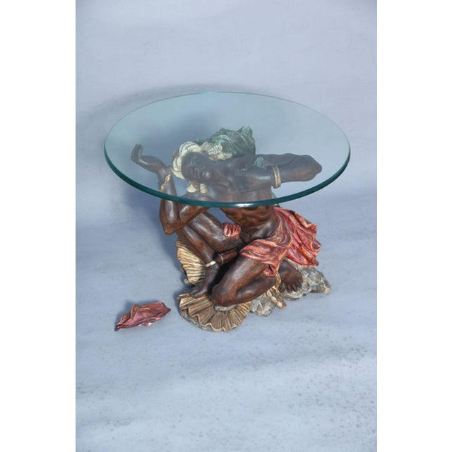 Early 20th Century Ithophallic Blackamoor Table For Sale - Image 5 of 10
