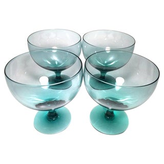 Russel Wright American Modern Goblets - Set of 4