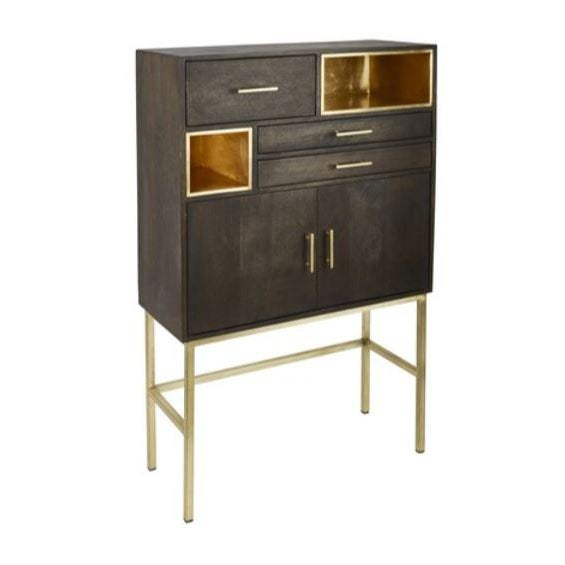 Contemporary Kennith Ludwig Chicago Modern Bar Cabinet For Sale - Image 3 of 3