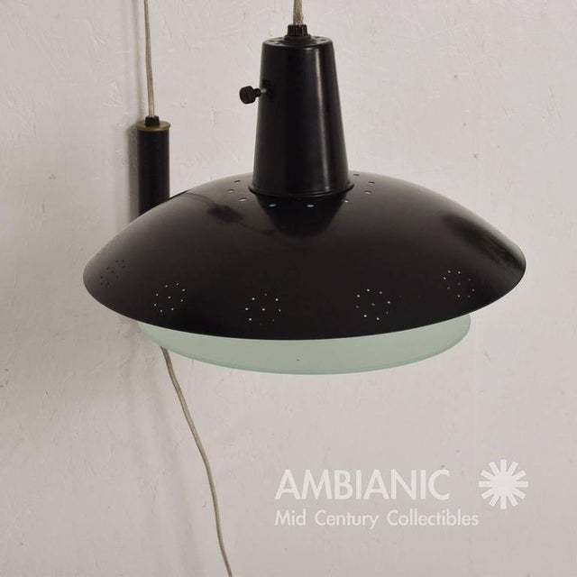 Mid-Century Modern Mid-Century Modern American Wall Sconce For Sale - Image 3 of 7