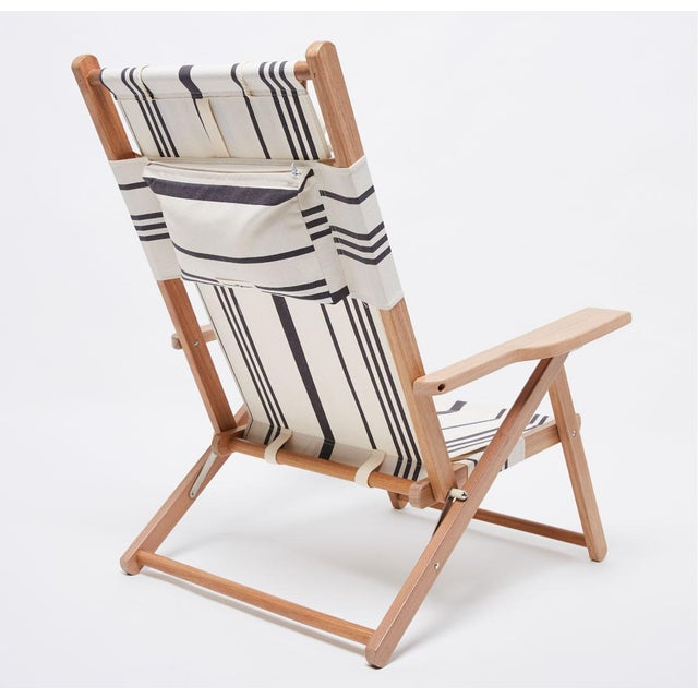 Meet our practical yet beautiful TOMMY chair in the Vintage Black Stripe and natural wood finish. The Tommy Chair is...