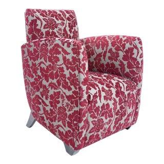 British Airways First Class Club Chair in Red Vine