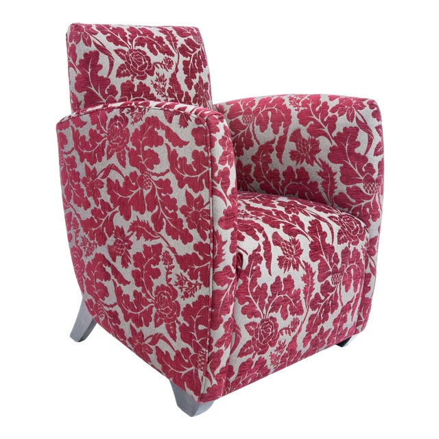 British Airways First Class Club Chair in Red Vine - Image 1 of 10
