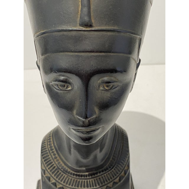 Vintage Queen Nefertiti Figure For Sale In West Palm - Image 6 of 9