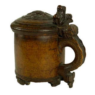17th - 18th Century Norwegian Tankard For Sale