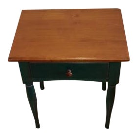Green Grange Shaker Side Table For Sale