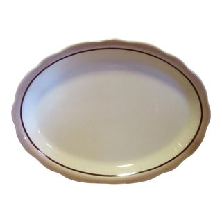 Mid-Century Buffalo China Serving Platter For Sale