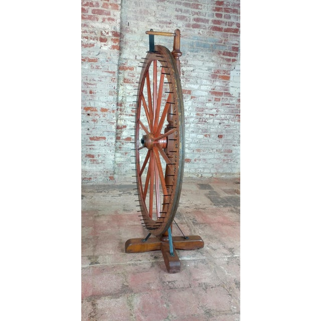 19th century Large Saloon Gaming spinning wheel of fortune For Sale - Image 5 of 12