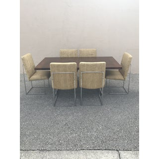 1960s Mid Century Modern Milo Baughman for Thayer Coggin Dining Set - 7 Pieces Preview