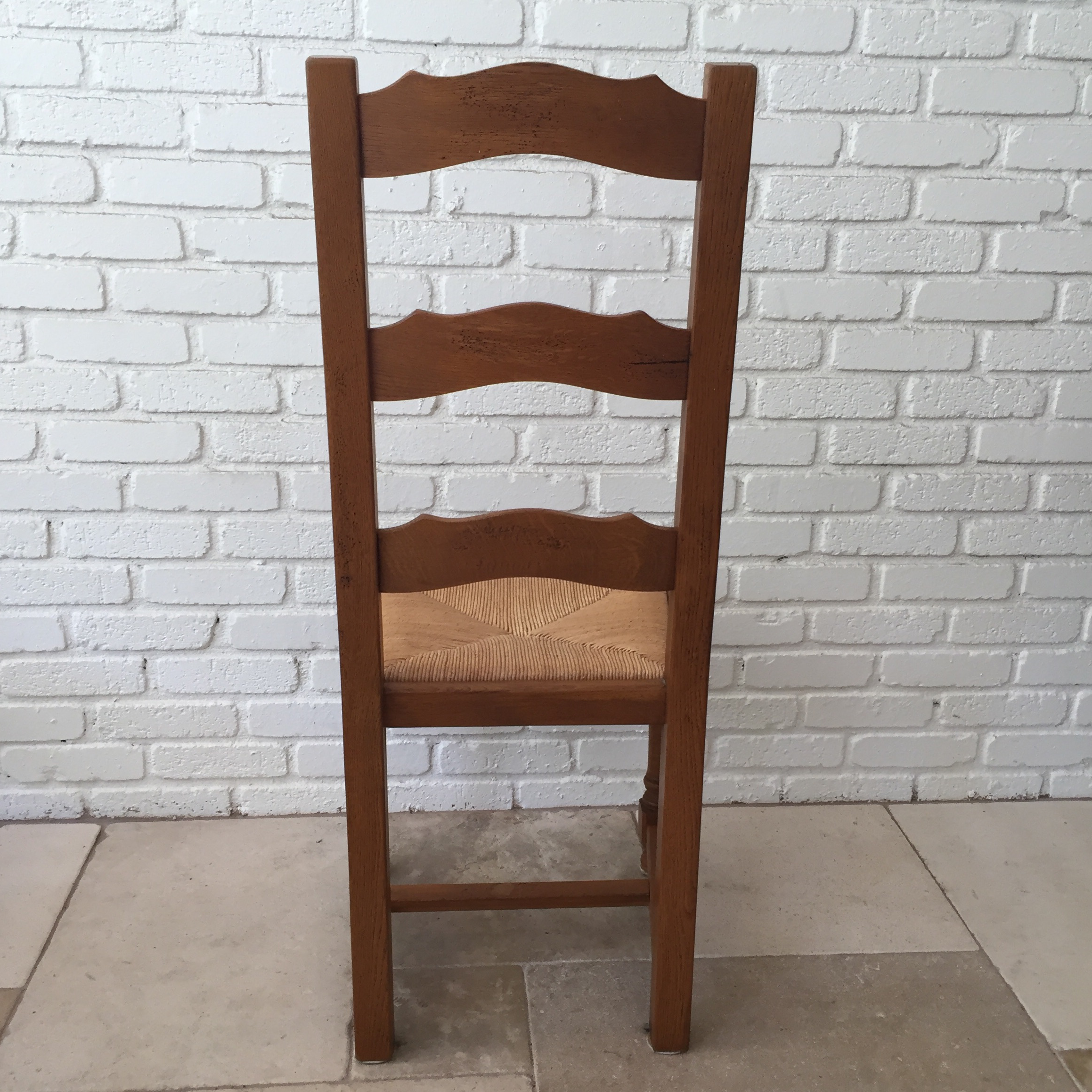 French Ladder Back Chairs   Set Of 8   Image 5 Of 10
