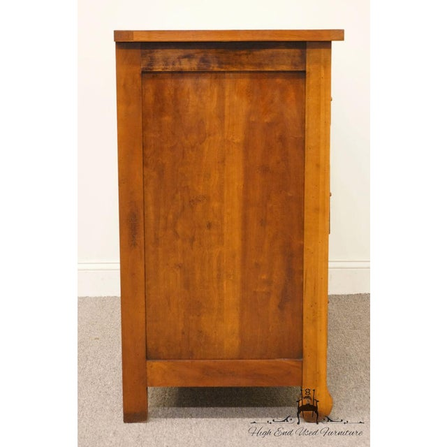 """Hickory Chair Country French Fruitwood 48"""" Double Dresser For Sale - Image 12 of 13"""