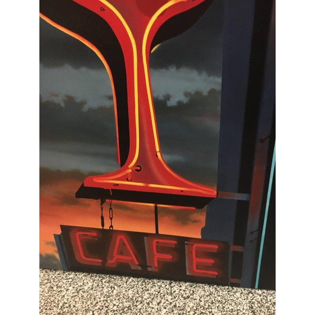 Mid-Century Modern James Gucwa 'american, 20th Century', Pioneer Cafe For Sale - Image 3 of 6