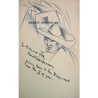 Everett Gee Jackson Drawings & Book For Sale