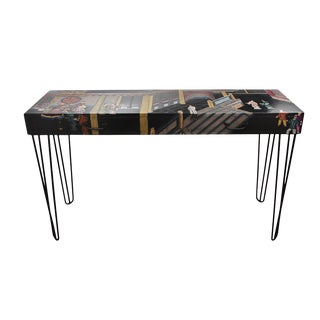 Maitland Smith Mid Century Chinoiserie Writing Desk For Sale