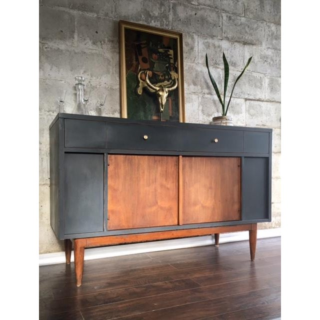 Mid-Century Credenza or Buffet - Image 3 of 7