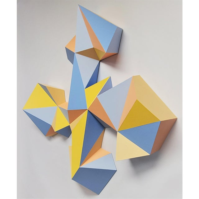 """Contemporary Sassoon Kosian """"Crossroads"""" Wall Sculpture For Sale - Image 3 of 9"""